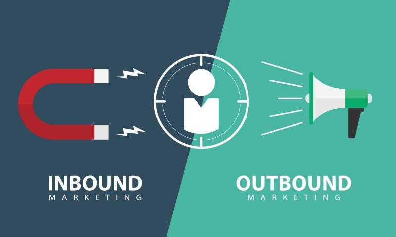 Outbound et Inbound marketing
